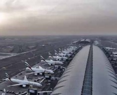 Photo from the 360-degree Dubai International Airport time-lapse.