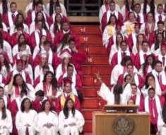 Photo: Kahuku High School graduation.