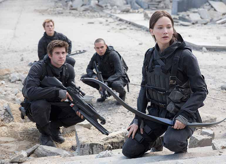 Promotional photo for Hunger Games: Mockingjay Part 2