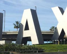 Photo of the LAX sign. Photographer: Phil Whitehouse.